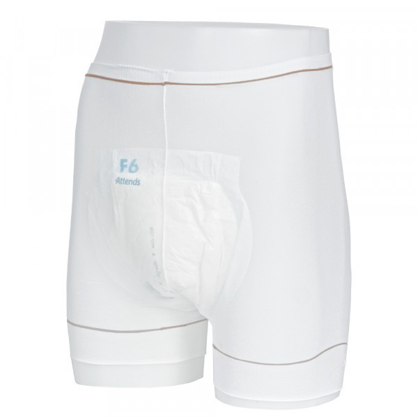 Attends Stretch Pants with Legs Large (90-120cm/35-47in) - Pack of 3