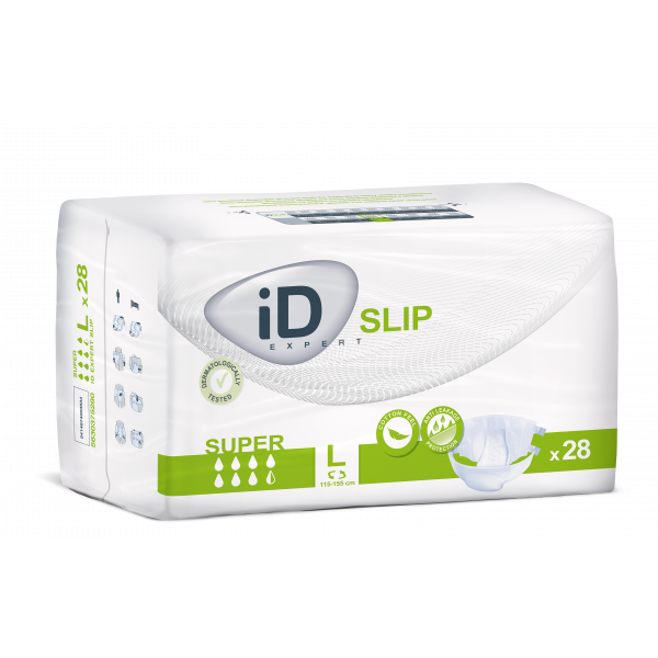 iD Expert Slip Super - Large (115-155cm/45-61in)  - Pack of 28