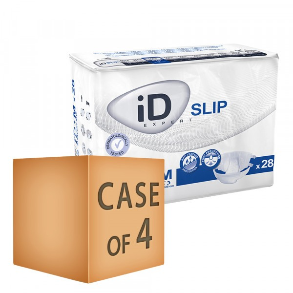 Case Saver 4 x iD Expert Slip Plus (PE Backed) - Medium (85-125cm/ 33-49in) -  Pack of 28