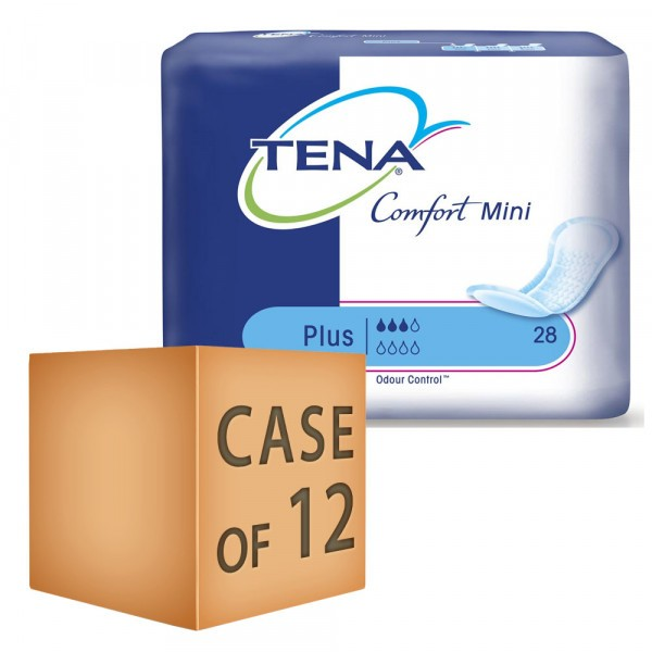 Case Saver 6 x TENA Comfort Mini Plus 365ml Pack of 28 - 168 Pads In This Deal