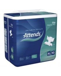 Attends Slip Regular Plus - X Large (10) (150-175cm/59-68in) Pack of 14