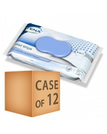 Case Saver 12 x TENA Wet Wipe 3 in 1 - Pack of 48